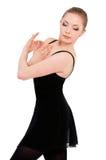 Ballerino di balletto della ballerina della donna Fotografia Stock Libera da Diritti