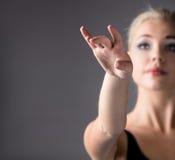 Ballerino di balletto femminile Immagine Stock Libera da Diritti
