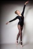 Ballerino di balletto moderno della donna di stile integrale Immagine Stock Libera da Diritti