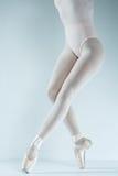 Ballerino di balletto. Treno nello studio. Immagini Stock