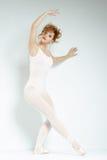 Ballerino di balletto. Treno nello studio. Fotografia Stock Libera da Diritti