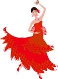 Ballerino di flamenco Fotografie Stock