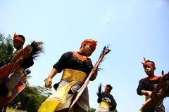 Ballerino di Jathilan Fotografia Stock Libera da Diritti