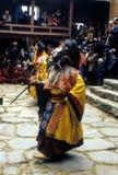 Ballerino di Mani Rimdu Fotografia Stock Libera da Diritti