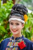 Ballerino di nordest tailandese di Phutai Immagini Stock