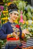 Ballerino di nordest tailandese di Phutai Immagini Stock Libere da Diritti