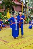 Ballerino di nordest tailandese di Phutai Fotografia Stock Libera da Diritti