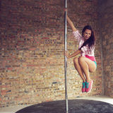 Ballerino di Palo Immagine Stock Libera da Diritti