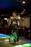 Ballerino di pancia Fotografia Stock Libera da Diritti
