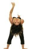 Ballerino di pancia Fotografie Stock Libere da Diritti
