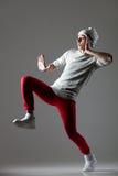 Ballerino di stile della via fotografia stock libera da diritti