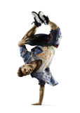 Ballerino hip-hop Fotografia Stock