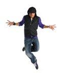 Ballerino hip-hop Immagine Stock
