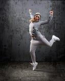 Ballerino hip-hop urbano Fotografia Stock Libera da Diritti