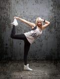 Ballerino hip-hop urbano Immagine Stock