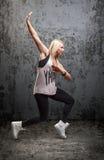 Ballerino hip-hop urbano Fotografia Stock