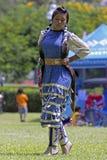 Ballerino indigeno Fotografie Stock