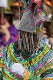 Ballerino indigeno al Corpus Christi nell'Ecuador Fotografia Stock Libera da Diritti
