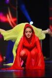 Ballerino israeliano della gioventù Fotografia Stock
