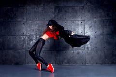 Ballerino nel moto Immagine Stock Libera da Diritti