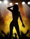 Ballerino nudo esotico royalty illustrazione gratis