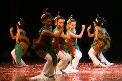 Ballerino tradizionale Fotografia Stock Libera da Diritti