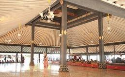 Ballerino tradizionale Art dell'Indonesia Jogjakarta Immagini Stock