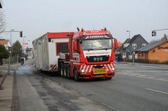 MEGALOAD TRANSPORT IN COPENHAGEN DENMARK. Ballerup/Copenhagen /Denmark / 19February.2018_ Negra load transport in ballerup.. Photo.Francis Joseph Dean / royalty free stock photo