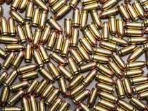 45 balles ACP Photos stock