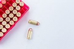 45 balles automatiques ACP Images libres de droits