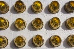 Balles creuses de point Image libre de droits