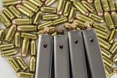 Balles 4 d'arme à feu Image stock
