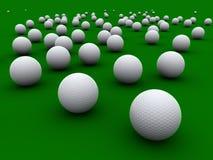 Balles de golf Photos stock