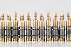 balles de traceur de l'OTAN de 5.56x45mm Photo stock