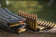 balles et magazines photo libre de droits