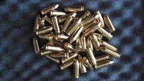 Balles 9 millimètres 9x19 Images libres de droits
