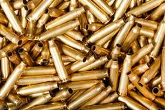 Balles utilisées de 5,56 millimètres Photographie stock libre de droits
