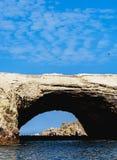 Ballestas Islands in Peru. Ballestas Islands near Paracas, Ica Region, Peru Royalty Free Stock Image
