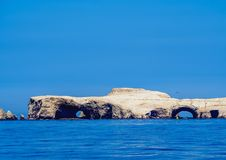 Ballestas Islands in Peru. Ballestas Islands near Paracas, Ica Region, Peru Royalty Free Stock Images