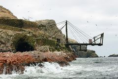 Ballestas islands in Peru Stock Photo