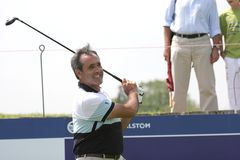 Ballesteros, Open de France 2006, golf National Royalty Free Stock Photos