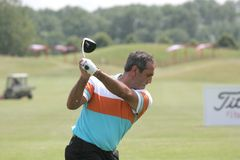 Ballesteros, Open de France 2006, golf National Stock Image