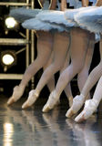 Ballet. Ballerinas on stage during ballet performance Stock Photos