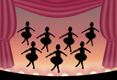 Ballet 2 Photographie stock libre de droits