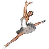 Ballet 5. 3d render of Ballet 5 Royalty Free Stock Images