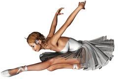 Ballet 6. 3d render of Ballet 6 Stock Images