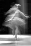 Ballet. Abstract stain frozen dance movement. Ballet royalty free stock photography