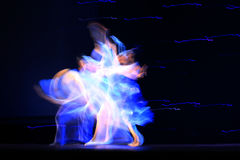 Ballet abstracto Imagen de archivo libre de regalías
