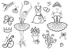 Ballet Accessories Royalty Free Stock Photo