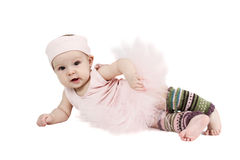 Ballet baby stock photography